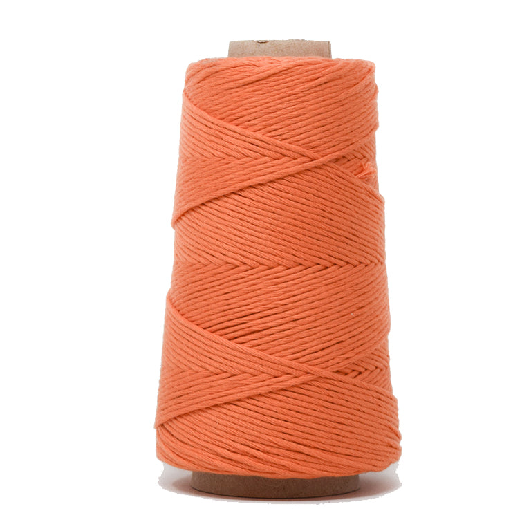 COMBED COTTON CONE 2 MM - ORANGE COLOR