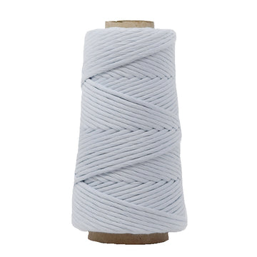 COMBED COTTON CONE 4 MM - SOFT BLUE COLOR