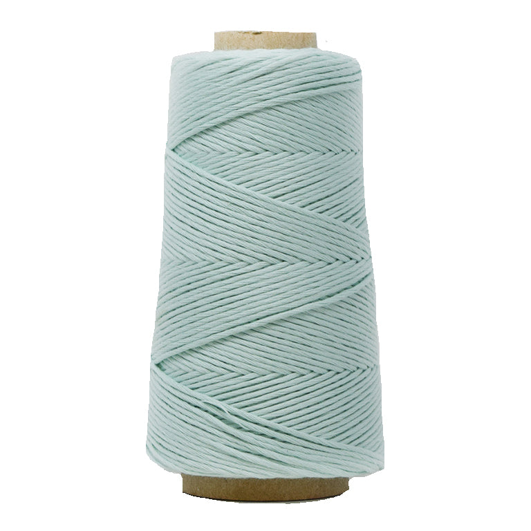 COMBED COTTON CONE 2 MM - AQUA COLOR