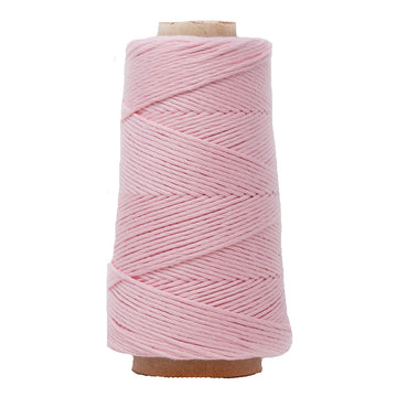 COMBED COTTON CONE 2 MM - BABY PINK COLOR