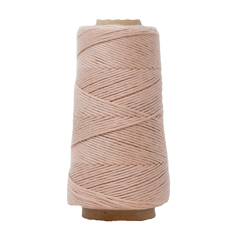 COMBED COTTON CONE 2 MM - MARSHMALLOW COLOR