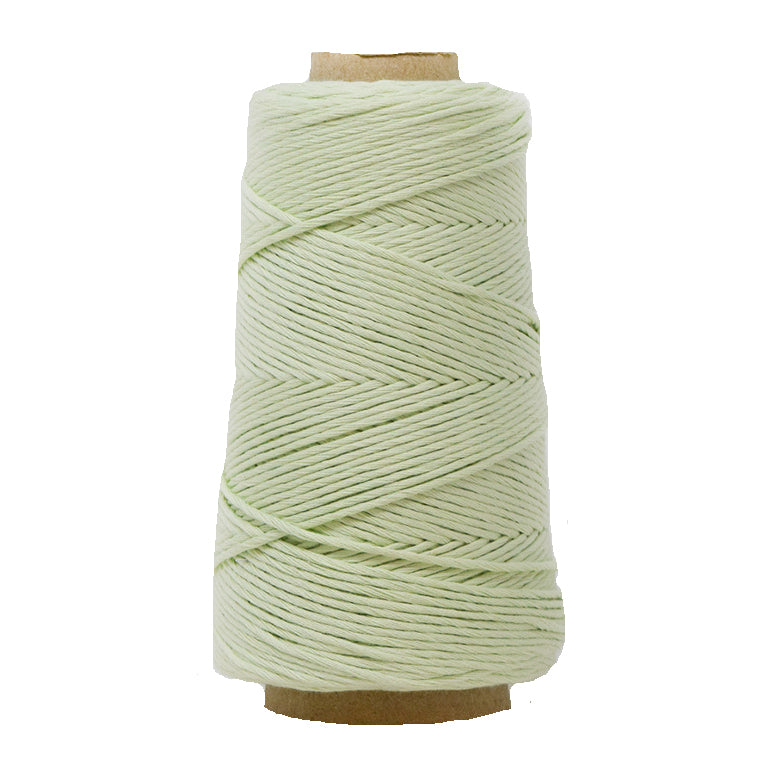 COMBED COTTON CONE 2 MM - MINT COLOR