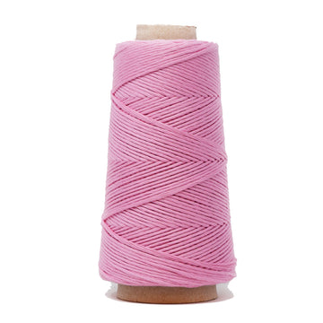 COMBED COTTON CONE 2 MM - PINK COLOR