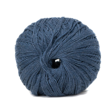 LINEN FLAMÉ - 1 STRAND - NAVY COLOR (NEW FORMAT)
