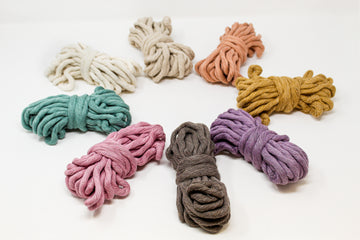 JUMBO SOFT COTTON CORD ZERO WASTE 8 MM - 1 SINGLE STRAND - SAMPLES