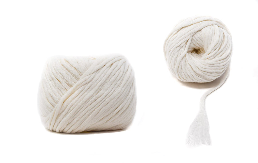COTTON BALL ZERO WASTE 3 MM - NATURAL COLOR