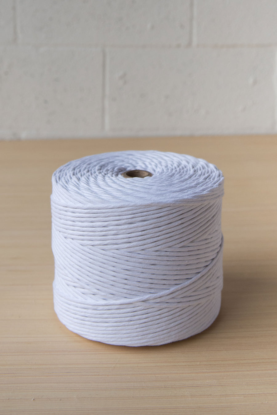 PREMIUM SOFT COTTON CORD 4 MM - WHITE COLOR