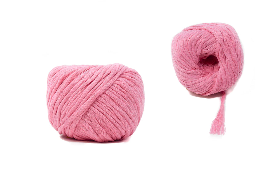 COTTON BALL ZERO WASTE 3 MM - PINK COLOR