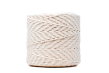 PREMIUM SOFT COTTON CORD 4 MM - NATURAL COLOR