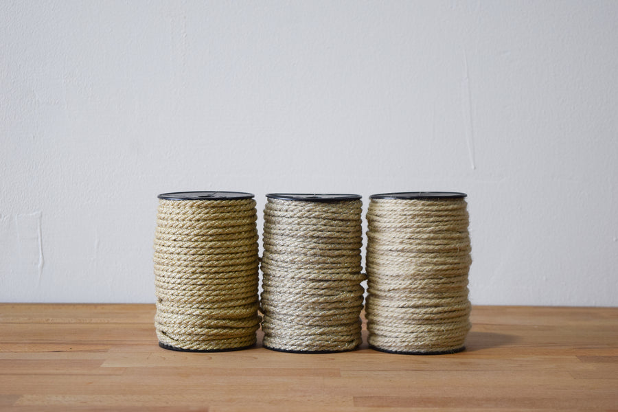 JUTE - 3 MM - SILVER COLOR
