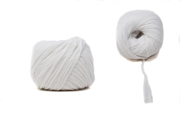 COTTON BALL ZERO WASTE 3 MM - WHITE COLOR