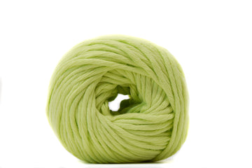 COTTON BALL 2.5 MM - LIME COLOR