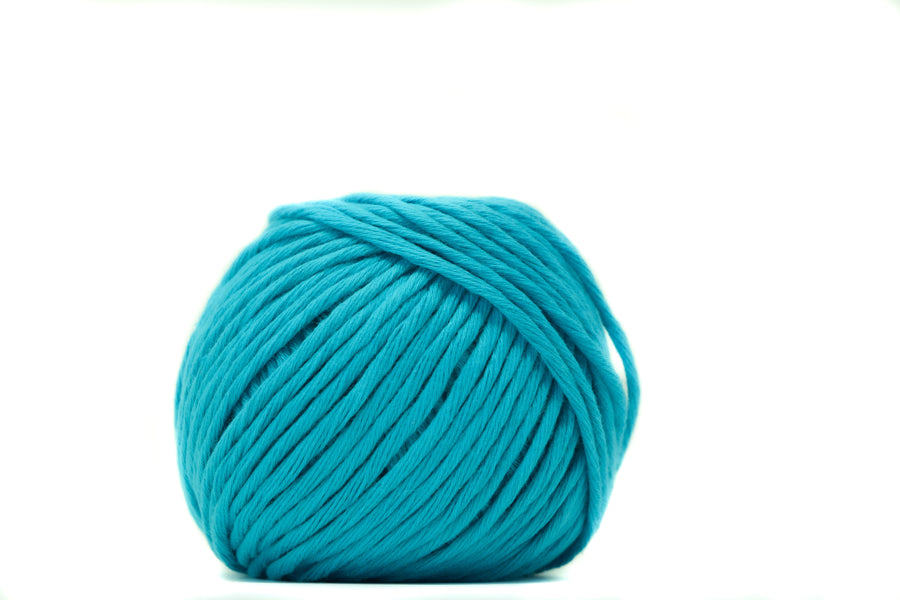 COTTON BALL 2.5 MM - TURQUOISE COLOR