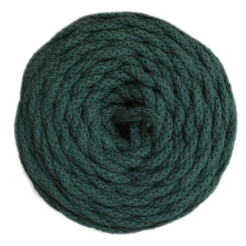 COTTON AIR CORD 4.5 MM - FOREST GREEN COLOR