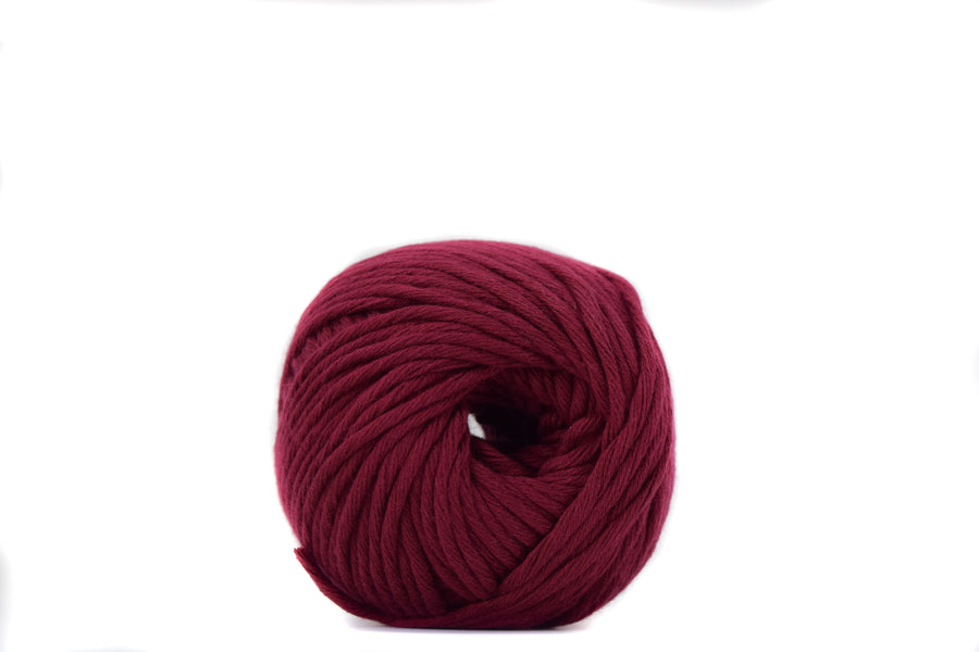 COTTON BALL 2.5 MM - BURGUNDY COLOR