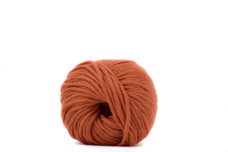 COTTON BALL 2.5 MM - ORANGE BURNT COLOR