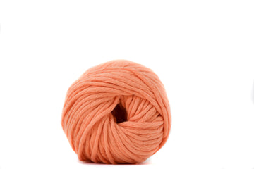 COTTON BALL 2.5 MM - CANTALOUPE COLOR