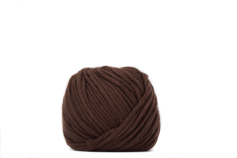 COTTON BALL 2.5 MM - CHOCOLATE COLOR