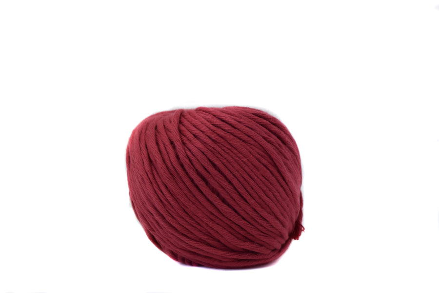 COTTON BALL 2.5 MM - CRANBERRY COLOR