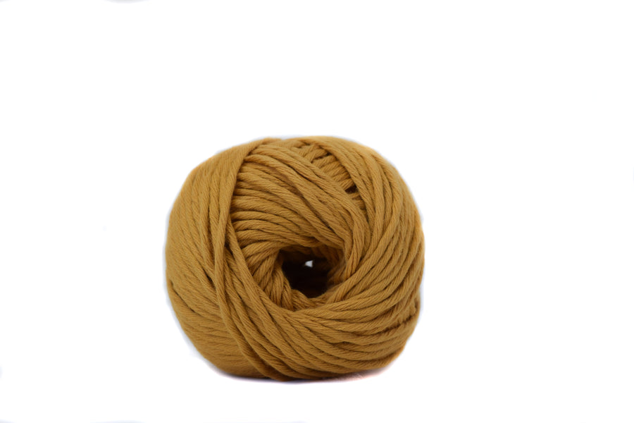COTTON BALL 2.5 MM - OCHER COLOR