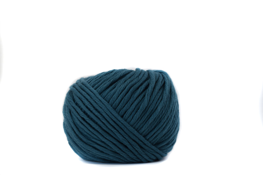 COTTON BALL 2.5 MM - TEAL COLOR