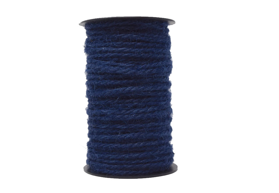 JUTE - 3 MM - NAVY BLUE COLOR