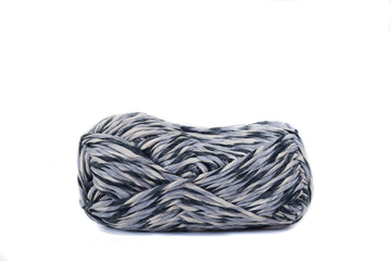 PAPER CORD - BLACK, GRAY AND BEIGE COMBINATION