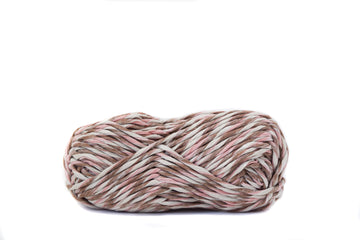 PAPER CORD - PINK, BROWN AND BEIGE COMBINATION