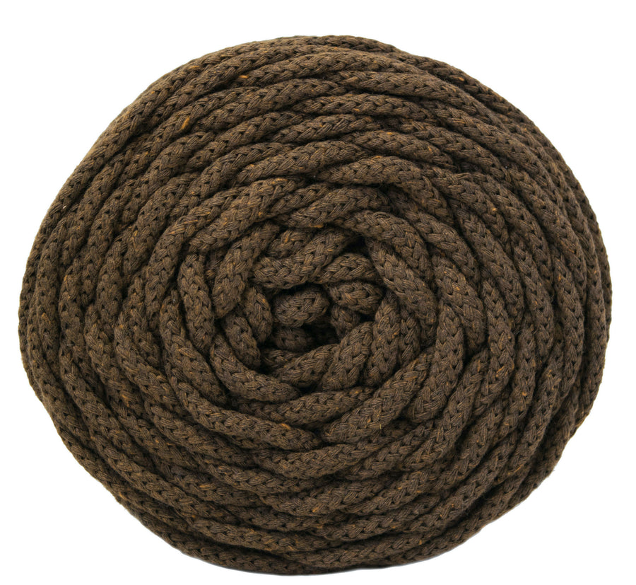 COTTON AIR CORD 4.5 MM - CHOCOLATE COLOR
