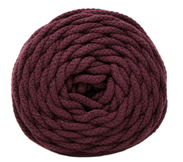 COTTON AIR 5 MM ZERO WASTE - BORDEAUX COLOR