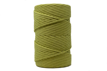 JUMBO SOFT COTTON CORD 8 MM - 1 SINGLE STRAND - GREEN TEA COLOR