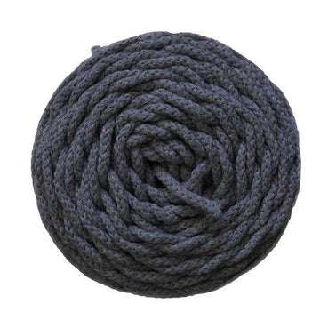 SMALL COTTON AIR 3 MM ZERO WASTE - CHARCOAL GRAY COLOR