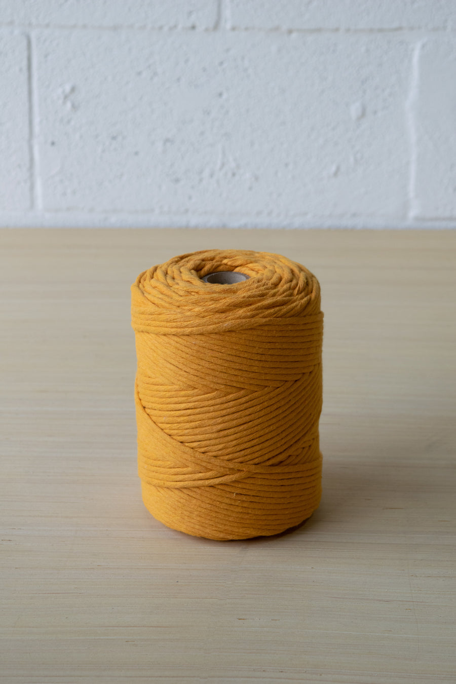 PREMIUM SOFT COTTON CORD 4 MM - TANGERINE COLOR