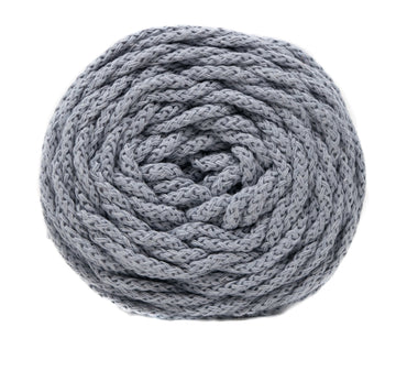 SMALL COTTON AIR 3 MM ZERO WASTE - SOFT GRAY COLOR