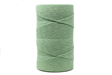 SOFT COTTON CORD 4 MM - 1 SINGLE STRAND - CACTUS COLOR (LIMITED EDITION)