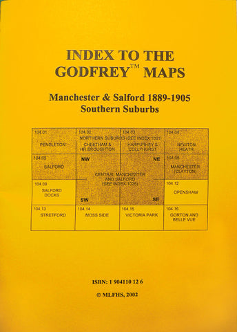 An Index to the Godfrey Maps: Southern Suburbs 1889-1905