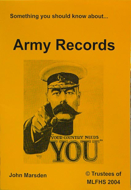 Something You Should Know about Army Records