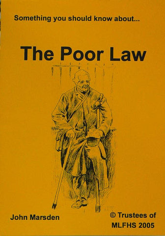 Something You Should Know about the Poor Law