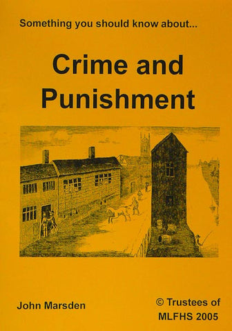 Something You Should Know about Crime and Punishment