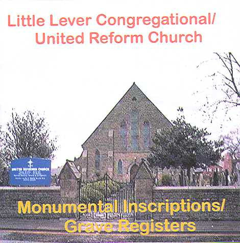 Little Lever Cong/URC MIs/Grave Registers (Download)
