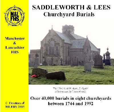 Saddleworth & Lees Churchyard Burials