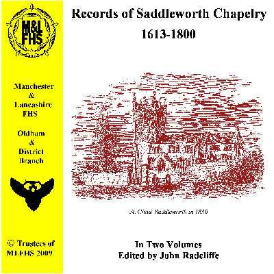 Records of Saddleworth Chapelry 1613-1800 on CD