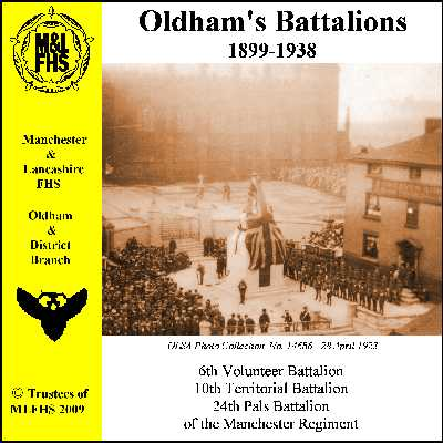 Oldham's Battalions 1899-1938 (Download)