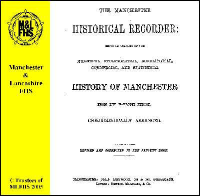 The Manchester Historical Recorder (Download)