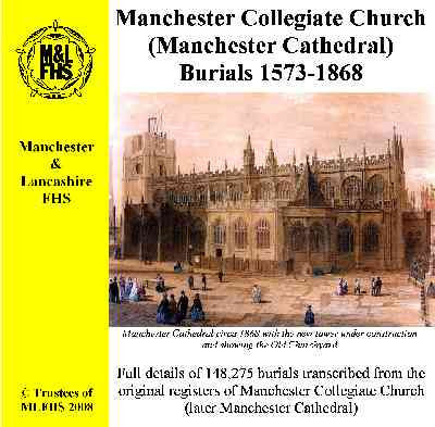 Manchester, Collegiate Church Burials 1573-1868