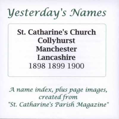 Parish Magazines: St Catharine's Church, Collyhurst