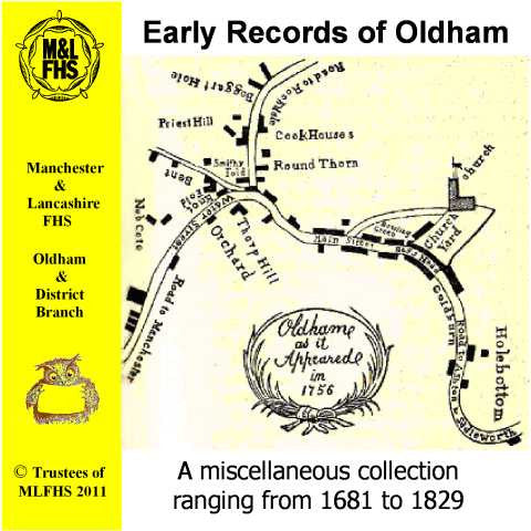 Early Records of Oldham
