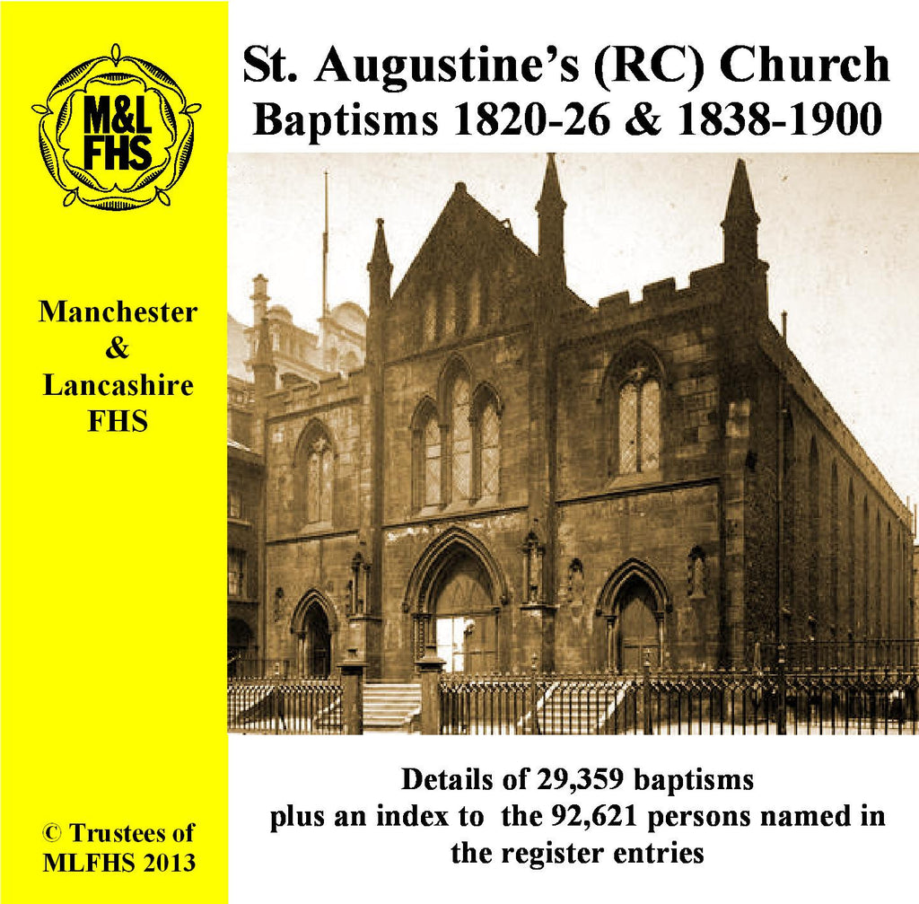 Manchester, St. Augustine's (RC), Church, Granby Row