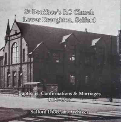 Salford, St Boniface's RC Church, Lower Broughton,