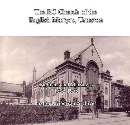 The RC Church of the English Martyrs, Urmston. B&M 1892-1918